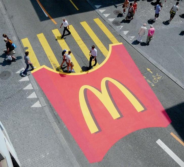 14 tác phẩm nghệ thuật trên những biển quảng cáo đẹp đường phố 13