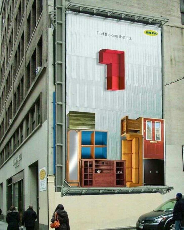 14 tác phẩm nghệ thuật trên những biển quảng cáo đẹp đường phố 4