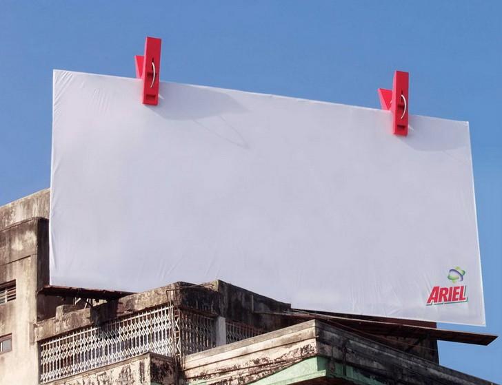 14 tác phẩm nghệ thuật trên những biển quảng cáo đẹp đường phố 9