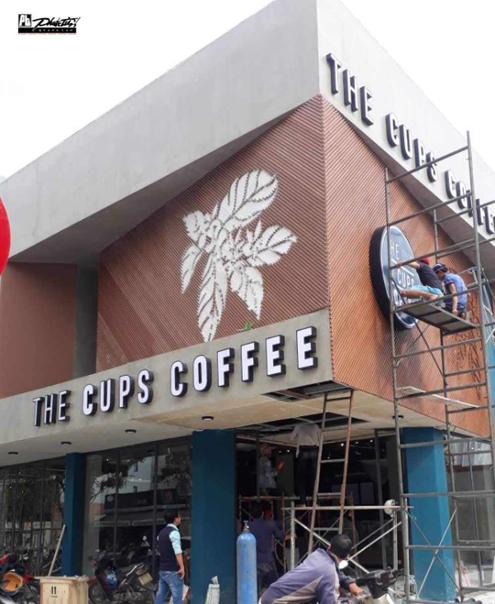 CÔNG TRÌNH QUẢNG CÁO THE CUP COFFEE 5
